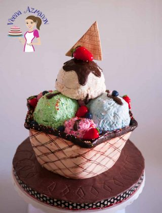 Ice Cream Sundae Cake Tutorial – Cake Decorating Tutorials