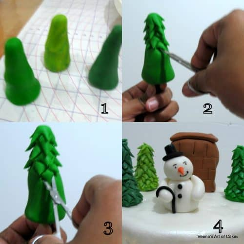 Decorating a Christmas Cake1
