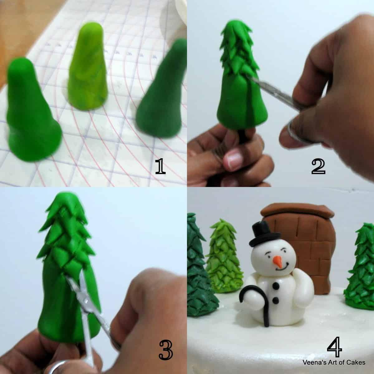 Decorating a Christmas Cake1