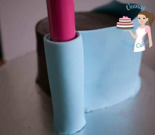 Frozen Theme Cake-3
