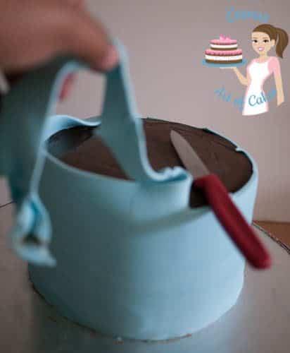 Frozen Theme Cake-4