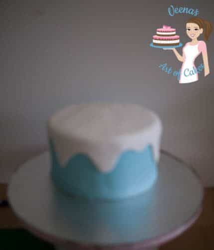 Frozen Theme Cake-7