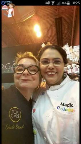 Cake International Cecile Beaud