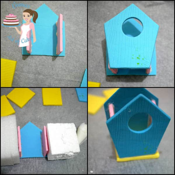 creating the Enchanted Birdhouse