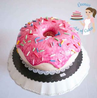 Doughnut Cake Video Tutorial