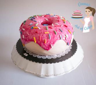 Doughnut Cake (29)