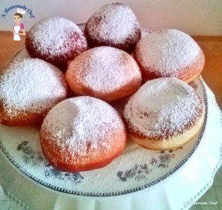 Jam Doughnuts, Hanuka Doughnuts or Sufganiyah