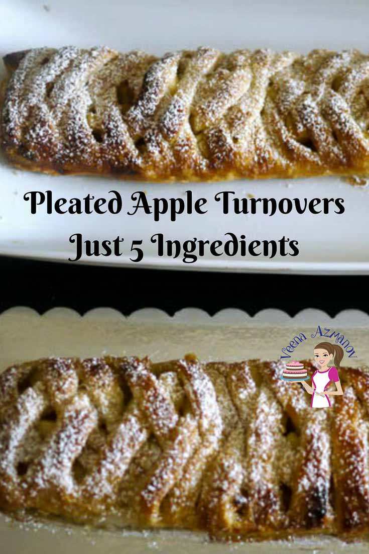 Featured Article - Pleated Apple Turnover with Just 5 ingredients