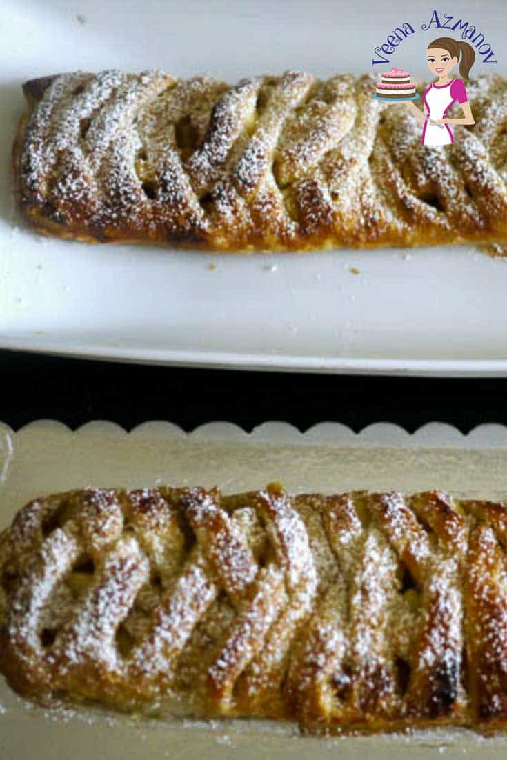 Pleated Apple Turnovers just five ingredients