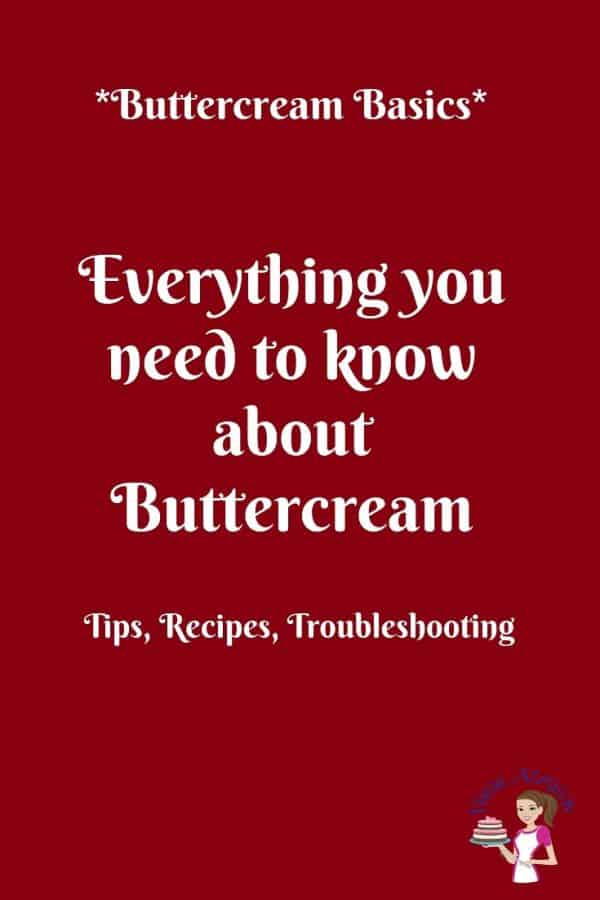 Title Text: Everything you need to know about buttercream.
