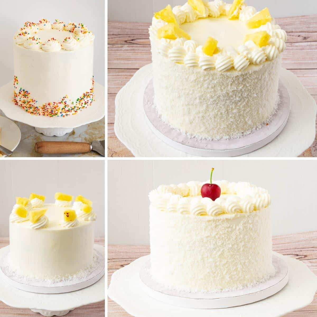 Buttercream basics collage.