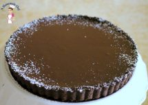 Chocolate Ganache Tart - The Easiest and Quickest Dessert Ever