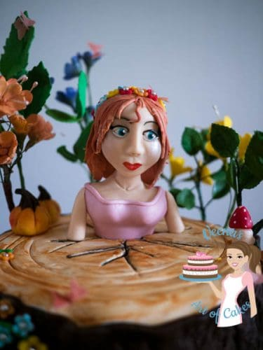 Enchanted Forest Princess Cake (16)