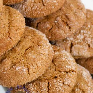 Soft on the inside, crisp on the outside this molasses cookie recipe is a butter cookie with a rich flavor of molasses that just melts in the mouth. A perfect tea time treat that takes less then 20 minute and gives you the most amazing satisfaction.