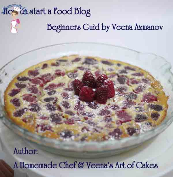 How to start a blog step by step shows you everything you need to know about blogging, content writing, hosting, backup and maintaining. From food blogger Veena Azmanov of A Homemade Chef