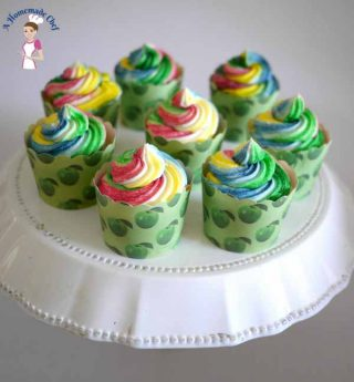 Quick and Easy One Bowl Vanilla Cupcakes