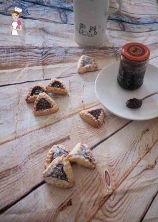 Hamentashen Ozen Haman or Purim Cookies