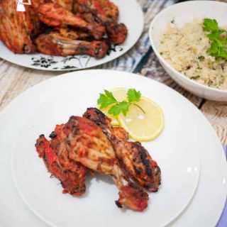 Tandoori Chicken Recipe is the most popular Indian food recipe and can be easily prepared in a home oven by food blog A Homemade chef