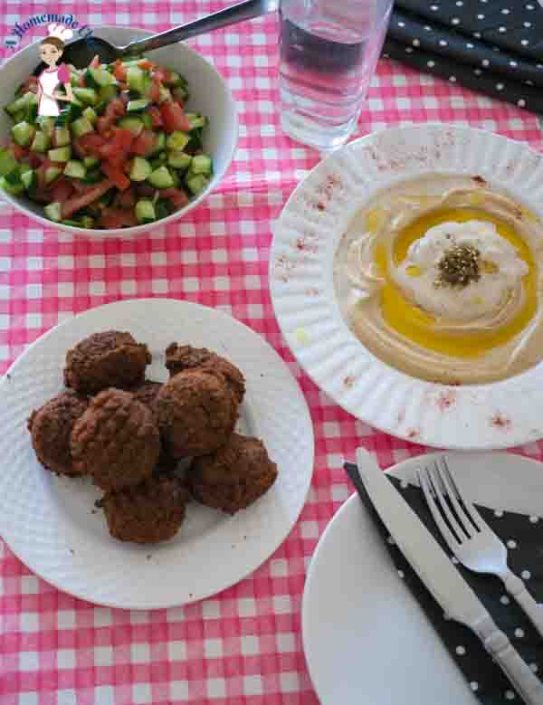 Homemade Falafel - This middle eastern recipe is so much fun and easy to make with such simple ingredients such as chickpeas by food blog ahomemadechef.net
