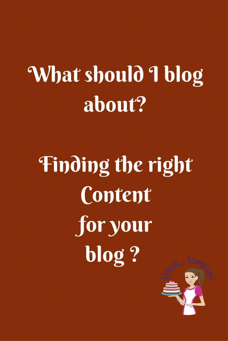 Choosing a Blog Niche. What Should I blog About?