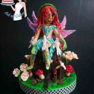 Woodland Fairy for the Irish Sugarcraft Show