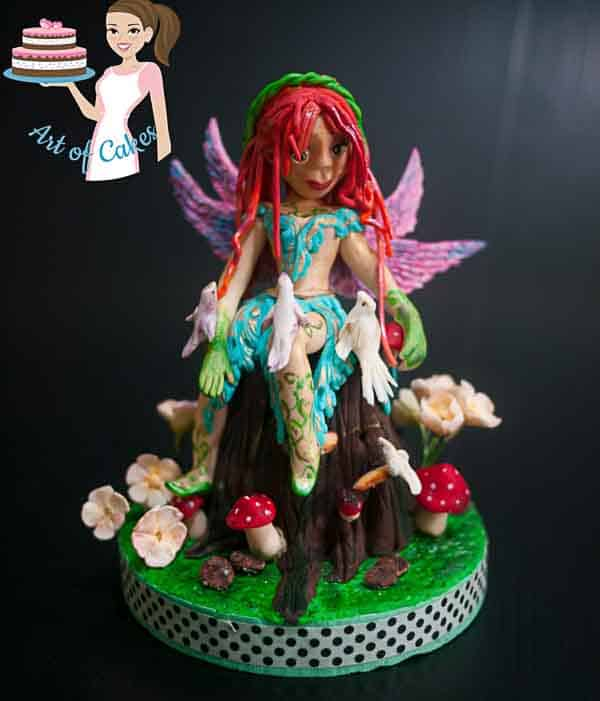 Woodland Fairy for the Irish Sugarcraft Show