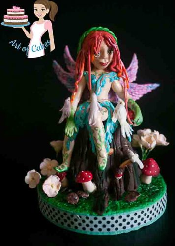 Irish Cake Decorating And Sugarcraft Chat : Tree Stump Cake Topper Tutorial - Veena Azmanov
