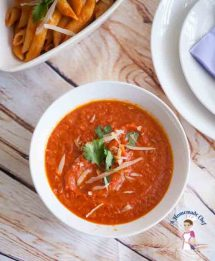 Basic Tomato Sauce is the best homemade recipe using fresh local tomatoes instead of canned with a little secret ingredient to get a beautiful red color by Food blog A Homemade Chef dot net