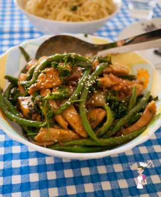 Chicken and Green Beans Stir Fry – Healthy Asian Cooking