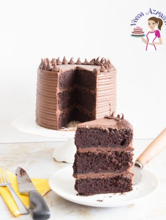 How to make a classic, or best ever chocolate cake with Swiss meringue Buttercream