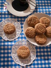 Molasses Delights cookies recipe is a perfect butter cookie with a flavor of molasses, really rich and melts in the mouth by food blog A Homemade Chef dot net