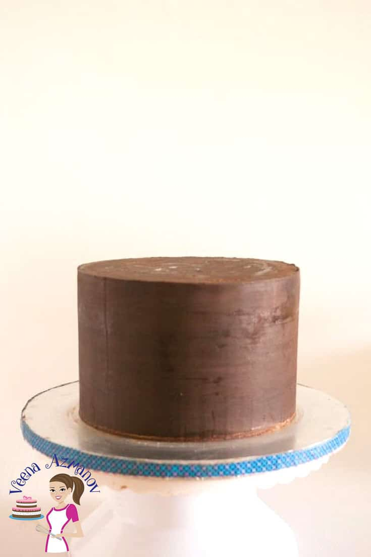 Sharp Edges on Ganache Cakes Tutorial – Cake Basics