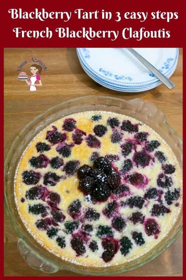This Blackberry Tart is simple and way too easy to make. You can use fresh or frozen blackberries. The best part about this recipe is there are just three easy steps to make and it is a much healthy fruity dessert option for busy weekends.