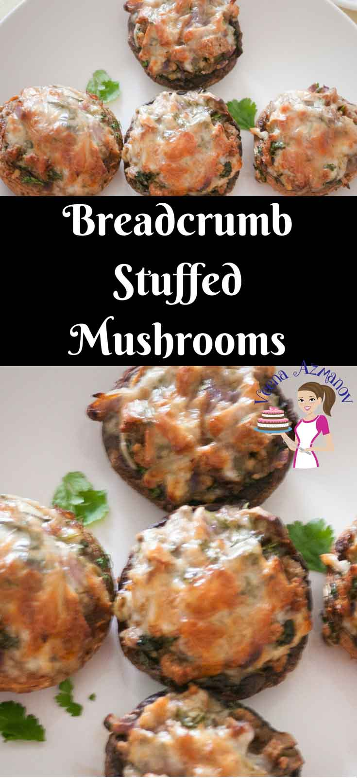 This Breadcrumb Stuffed Mushrooms is a super easy recipe and simple appetizer recipe. Take barely any time to make and the cheesy breadcrumbs just melt in the mouth. Perfect way to dress a celebration of weekend dinner table.