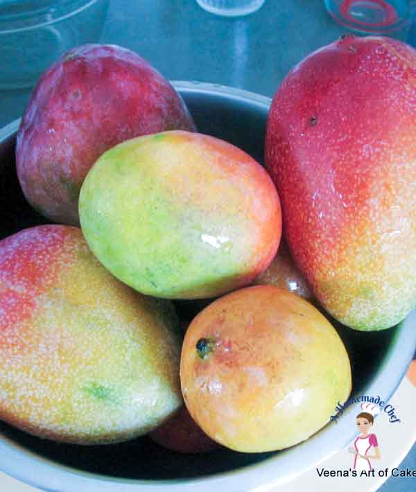 How to freeze mangoes - if you do have some fruit in season and want to freeze them. Here's the easiest way on how to freeze mangoes. But you can do the same with almost all fruits.