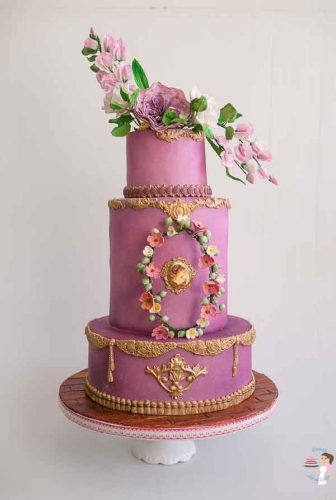 How to create Metallic Effect on Cakes - Veena Azmanov