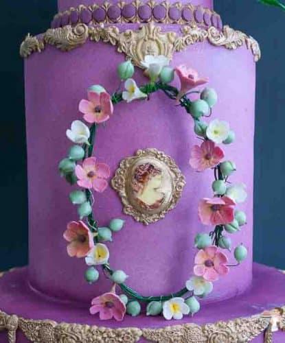Queens Cake Cake Masters Magazine - Veena Azmanov