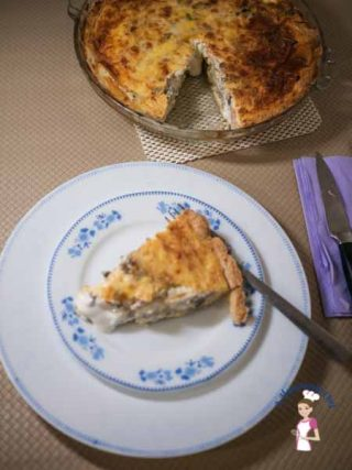 Artichokes and Goats Cheese Quiche