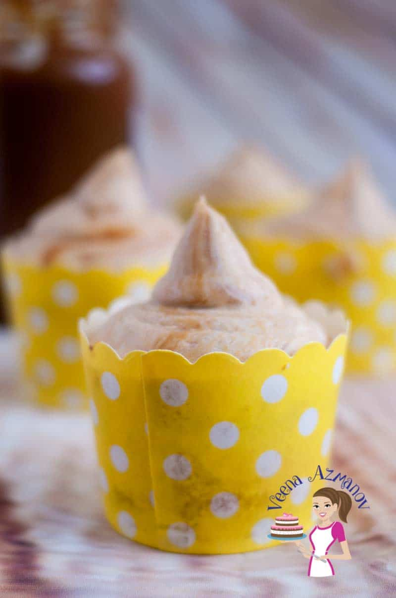 Best Ever Dulce De Leche Cupcakes