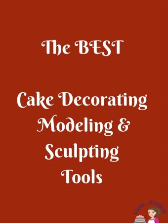 Cake Decorating Modeling Sculpting tools