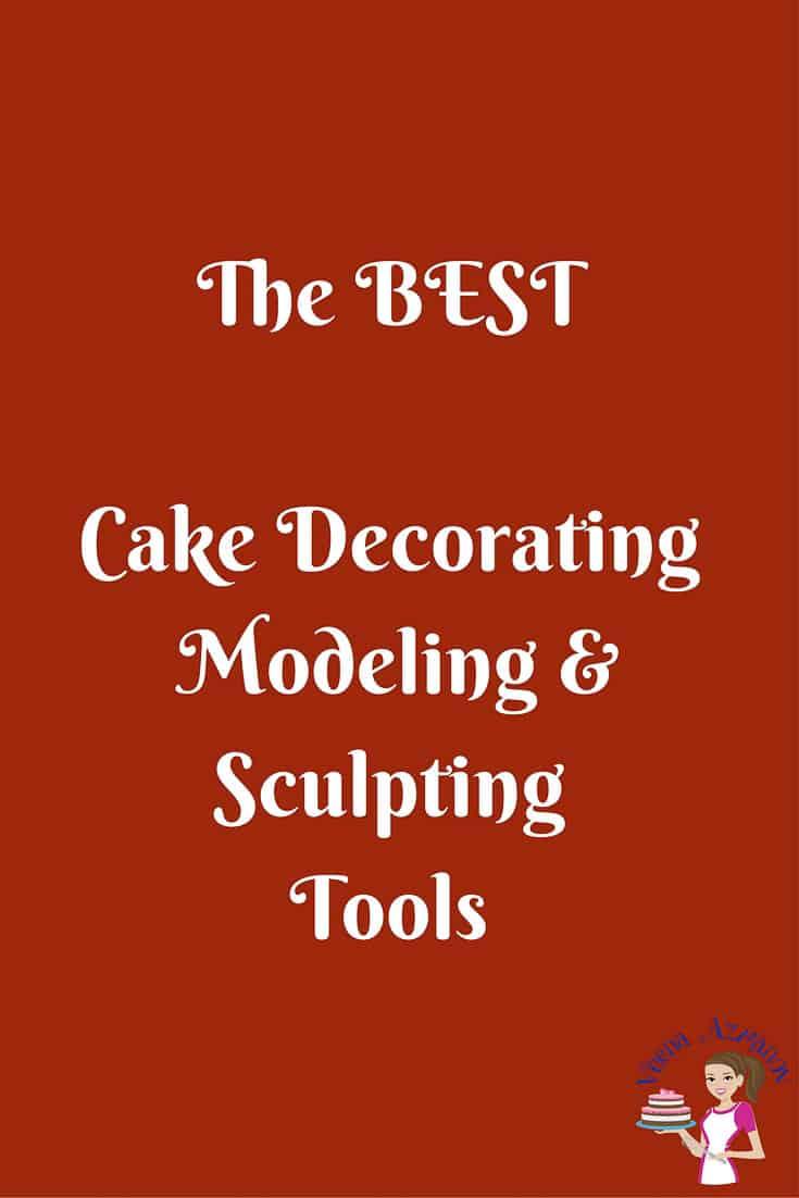 My Cake Decorating Gr Facebook : Cake Decorating Modeling Sculpting tools - Veena Azmanov
