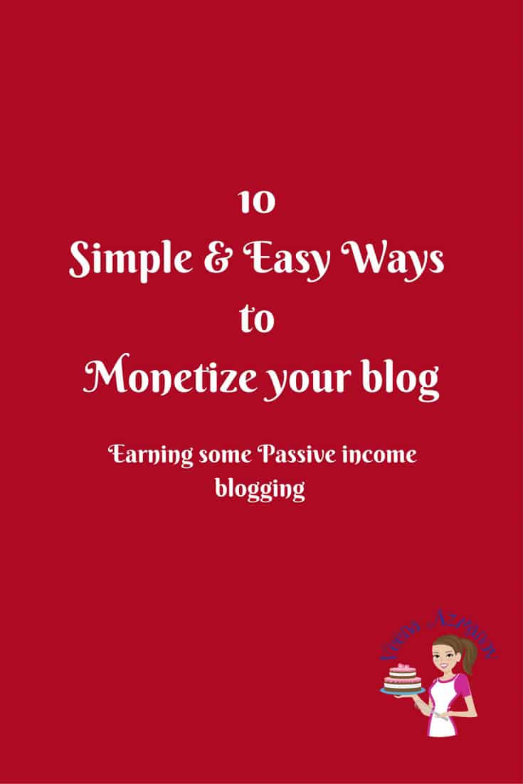 How to monetize a Blog – Passive Income