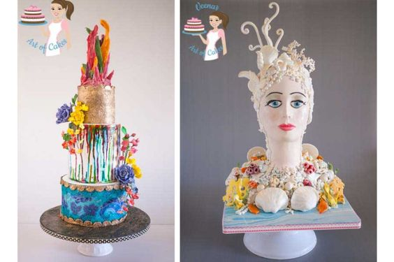 Conflating Visions interviews Veena Azmanov of Veenas Art of Cakes for their series Inspiring story baking adventure by Veena Azmanov