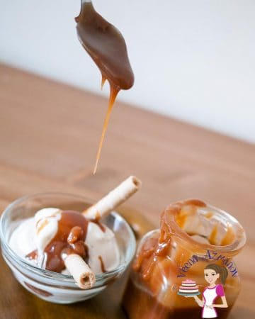 Caramel Sauce is the simplest treat you can use to take a simple dessert and add that extra wow. Making Homemade Caramel Sauce is easier than most people think! It takes about 5 minutes to make one cup caramel with just a sauce pan and wooden spoon. I'll show you how in the video below.