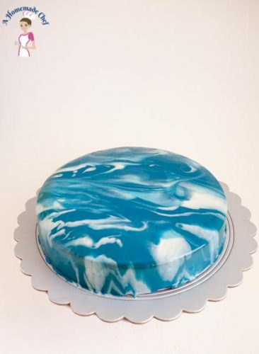 How to make Mirror Glaze Cake (1)