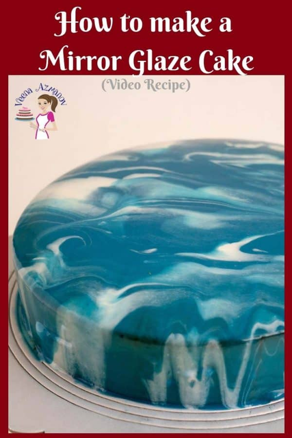 Mirror glaze aka shiny cakes are the latest trend in the cake world. These pretty mirror cakes are so impressive and yet so easy to master.