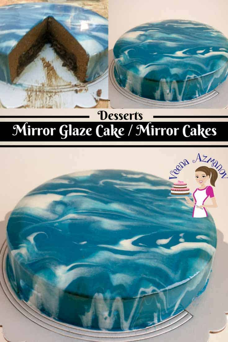 Mirror glaze aka shiny cakes are the latest trend in the cake world. These pretty mirror cakes are so impressive and yet so easy to master. Once you make the recipe the rest is plain fun and imagination.