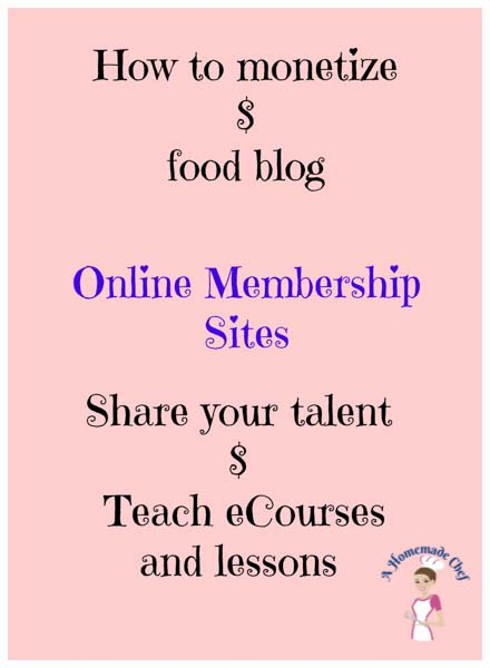 How to monetize a food blog - The key to making money is YOU!! I'd say 90% is you and 10% is the link. It's about how you sell these