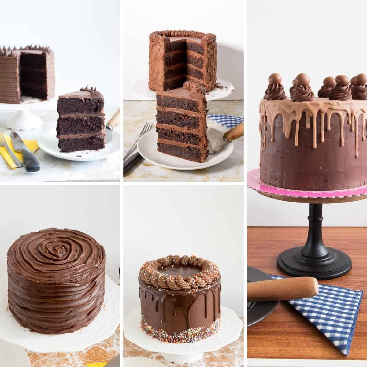 How to make tall layer cakes baked from scratch that look impressive and decadent