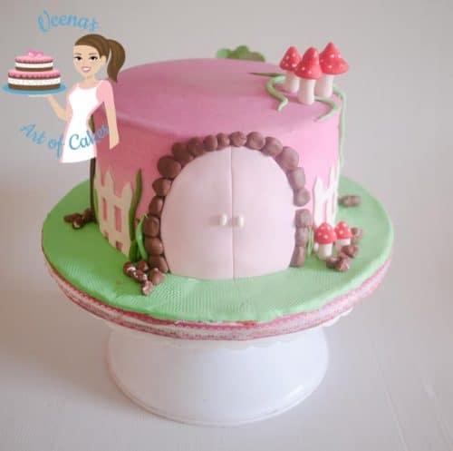 Pink Mushrooms cake (21)